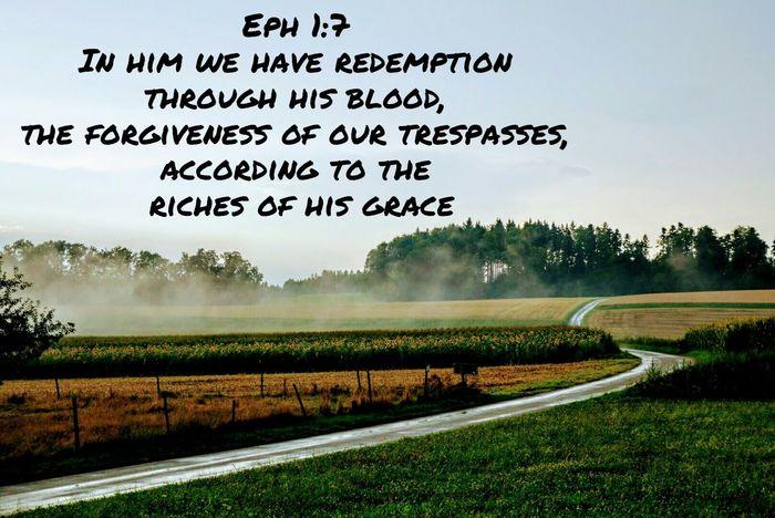 Grace Redemption Forgive