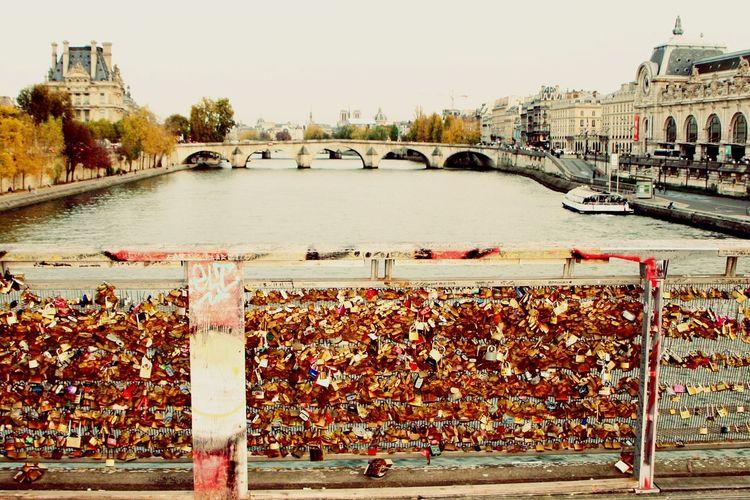 Be. Ready. Travel Destinations Outdoors Bridge - Man Made Structure City Mariage Love Paris Bridge Lovebridge Lovelock Love Locks Love Locks Bridge Love Lock
