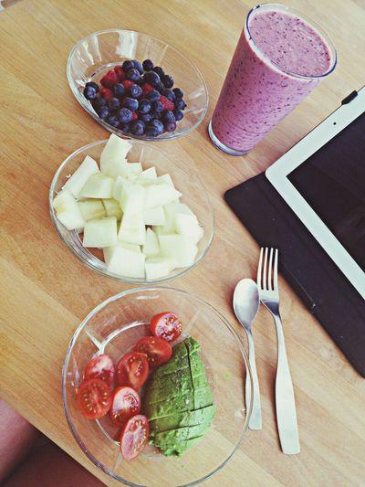 Good morning :)) Breakfast Love Delicious