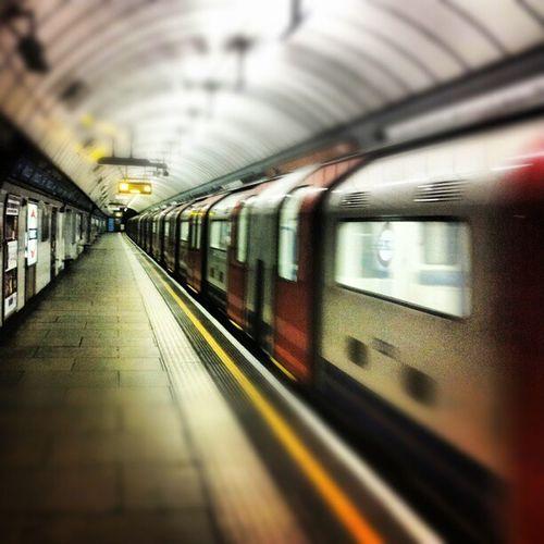 Empty tube station