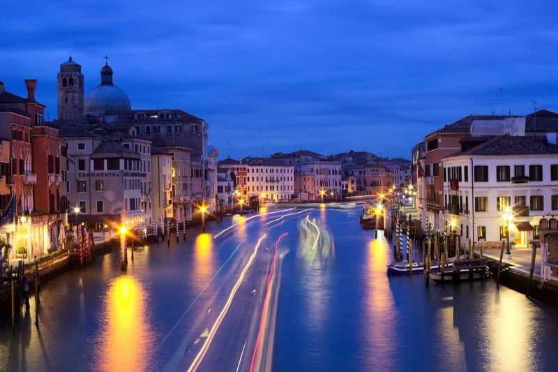 Ponte dell'Accademia Bridge Long Exposure Taking Photos Colorful Construction Oldtown I Love My City Venezia Venedig Venice, Italy Seeing The Sights Battle Of The Cities