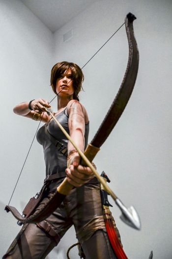 Huntress Amazone Lara Croft Tomb Raider