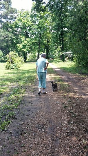 Heart surgery can't keep her down! My grandma going to check her garden with her cat a week after heart surgery. Still Moving Heart Surgery A Lady And Her Cat Woman And Cat Going To Check The Garden Taking Photos Enjoying Life Check This Out The Following