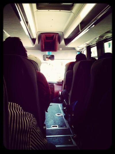 Dans Le Bus direction La Marsa
