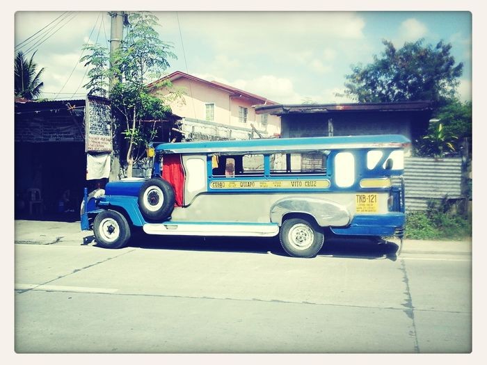 One of the main mode of travel in the Philippines. .. the Jeep.
