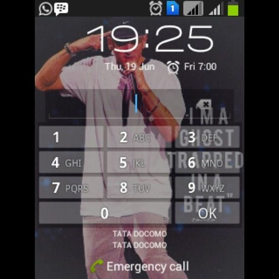 My lock screen :) Eminem SlimShady MarshallMathers