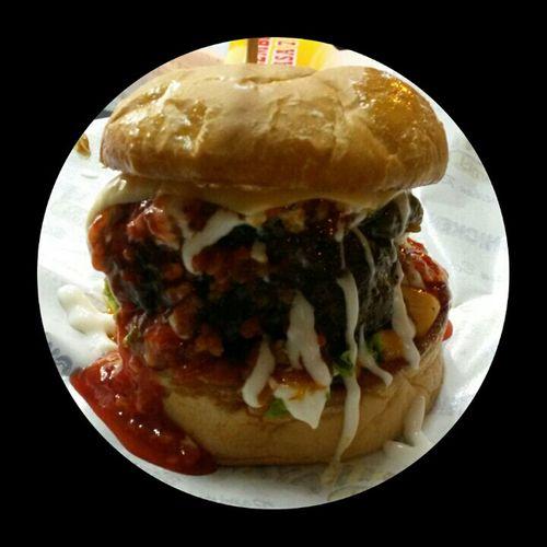 Burger Bakar Menanggis...Chesse & spicy