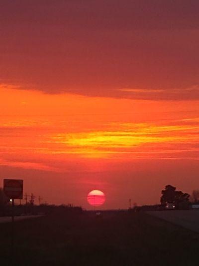 Red Sun Missouri Ozarks Missouri Skyline Red Sunset Highway Photography Highway Sunset Beautiful Sky❤ Astronomy Sunset Multi Colored Horizon Awe Sun Sunlight Red Silhouette Romantic Sky Dramatic Sky Stratosphere Urban Skyline Moody Sky