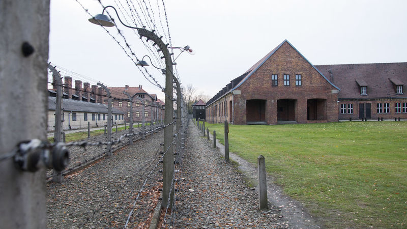 Auschwitz concentration camp (German: Konzentrationslager Auschwitz, also KZ Auschwitz) was a network of German Nazi concentration camps and extermination camps built and operated by the Third Reich in Polish areas annexed by Nazi Germany during World War II. It consisted of Auschwitz I (the original camp), Auschwitz II–Birkenau (a combination concentration/extermination camp), Auschwitz III–Monowitz (a labor camp to staff an IG Farben factory), and 45 satellite camps. Auschwitz  Auschwitz Birkenau Birkenau Birkenau Memorial Concentration Concentration Camp Concentrationcamp Nazism Poland