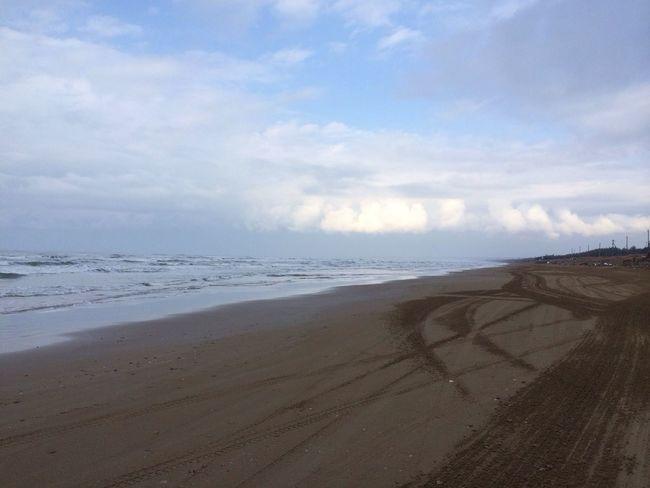 千里浜 Nihonkai Sea Beach 久しぶりにうちの田舎に行ってきましたヽ( ̄▽ ̄)ノ