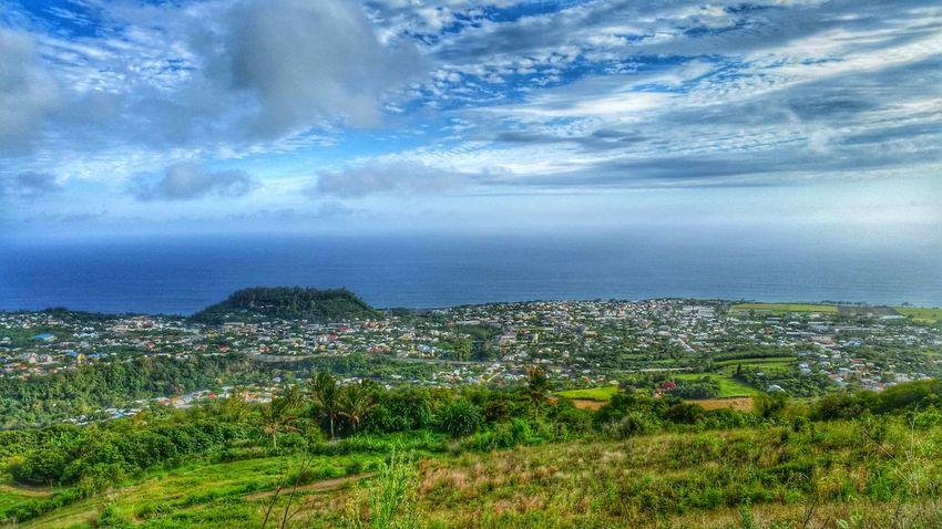 Enjoying The View Reunion Island Taking Photos Escaping