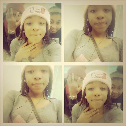 This Ugly But My Lovesss & I In Class :)