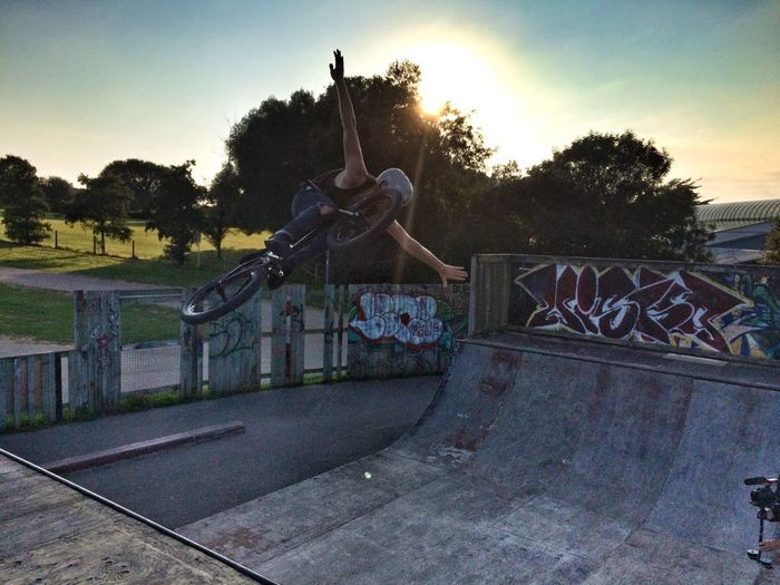 Owning the ramp at Woodenwaves Newquay Cornwall Extreme Sports Urbanphotography Ramplife Bmx  Skatepark