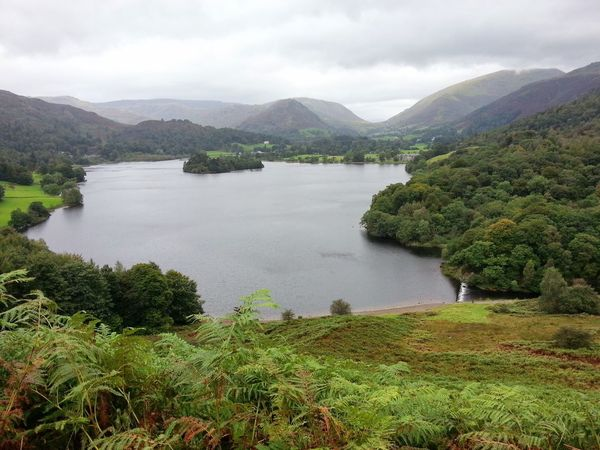 Rydal Water Gramere Cumbria Mountain Lake Cloud - Sky Landscape Tranquility Scenics