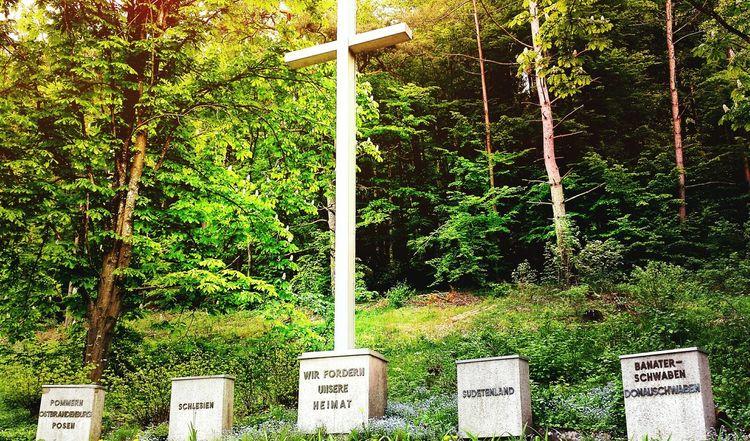 Denkmal nähe Blaubeuren Cross Nature Jesus Love Sky Heaven Schwäbischealb War Peace Hope
