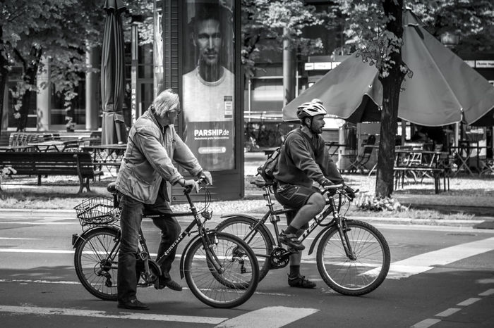 3 MEN Berlin HDR Hdr_Collection Street Life Eyem Best Shots - Black + White Streetphotography_bw Streetphoto_bw People Monochrome EyeEm Bnw