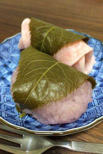 Asian Culture 雛祭り 桜餅 道明寺 Sweets