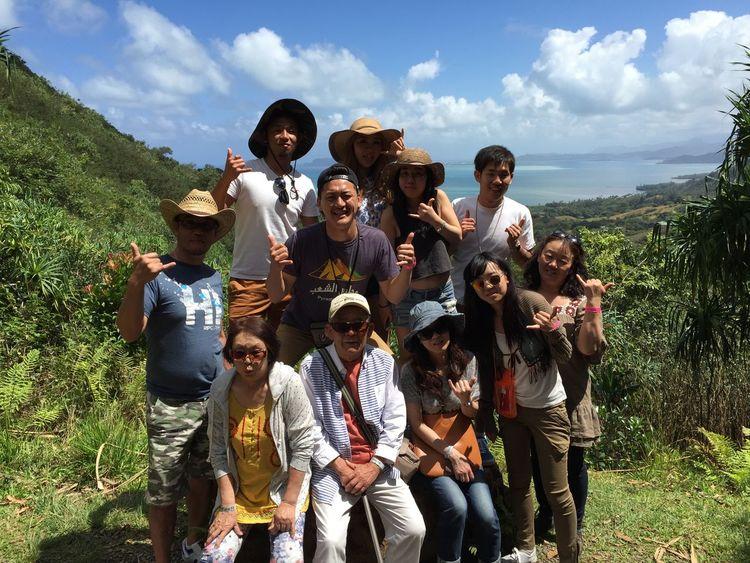 Hawaii Family❤ Kualoa Ranch