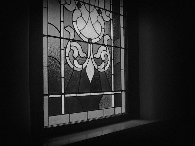 Stained Glass in Black and White Indoors  No People Day Close-up Architecture Bws_worldwide #bnw #blackandwhite #bw #blacknwhite Stained Glass Window Stained Glass EyeEmNewHere EyeEmNewHere