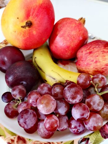 Fruit Red Healthy Lifestyle Grape Variation Close-up Food And Drink