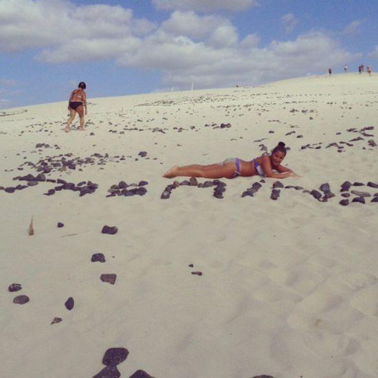 :) sulle dune di porto pino :)