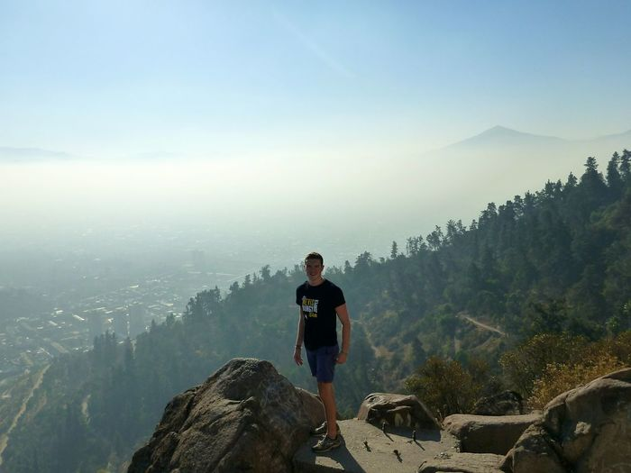 Adventure Club another day, another city, another Hike Santiago De Chile