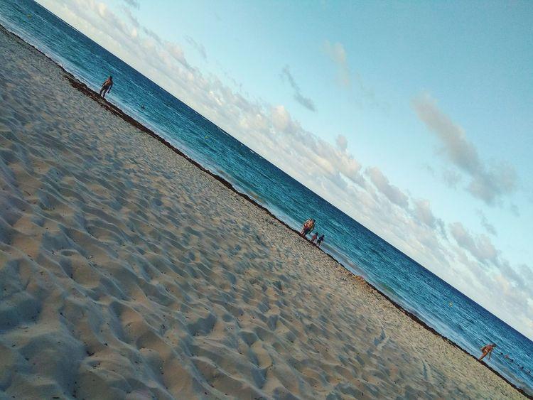 Beach Sand Sky Sea Landscape Punta Cana, Dominican Republic Vacations Vacaciones🌴 Enjoying Life