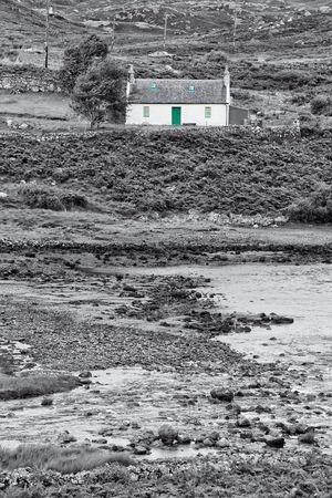 Schottland Landscape Coast Selective Color