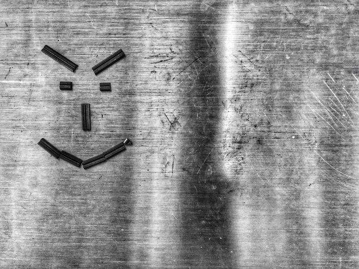 Steel laughing Angry Face Angry Shadow Pattern Steel Blackandwhite Bestmoment Happiness Black & White Black Blackandwhite White Wood - Material Indoors  Table No People Shape Still Life Day Creativity Art And Craft Text Close-up Design Shadow Pattern