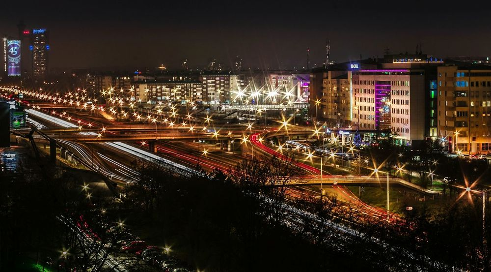 Longexposure Long Exposure Novibeograd Lightpainting Cityscapes City Lights City View  Lighttrails Lighttrailsphotography On The Road Nightphotography Nightlife Nigthphotography