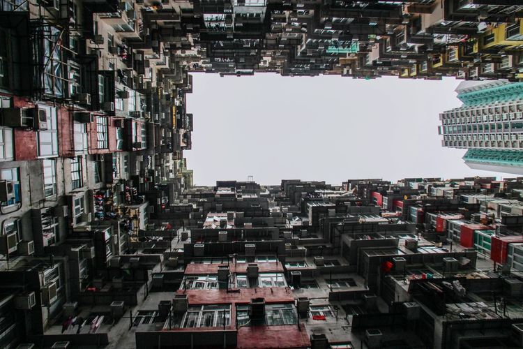 A different view of yick fat building Yick Fat Building Cityscape Architecture Skyscraper City Building Exterior Ghetto Traveling EyeEm Gallery On The Road Travel Streetphotography The Street Photographer - 2017 EyeEm Awards Street Photography Urban Urban Geometry Urban Skyline Urban Landscape Urban Exploration Cityscapes Hong Kong Urbanexploration Lost In The Landscape Perspectives On Nature An Eye For Travel Go Higher