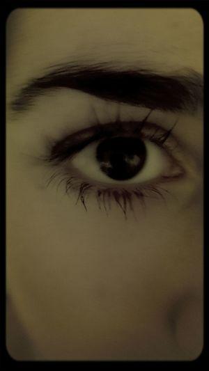 Eyebrows eye