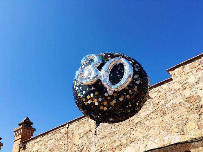 30 Sky Baloons Skyporn Birthday Blue