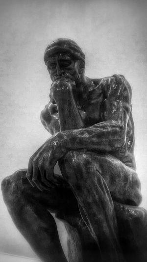 art sculpture phonephotography museo mexico city El pensador, Auguste Rodin