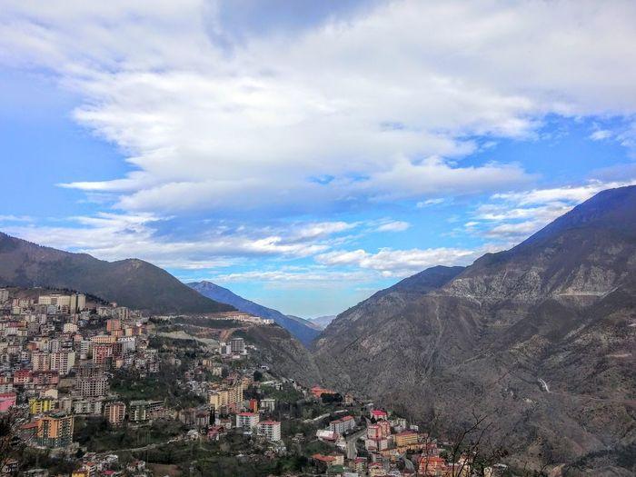 Artvin Turkey Bulut Cloud Daglar Gökyüzümavi Gökyüzü❄⛄🎑 Mavi Mountain No People