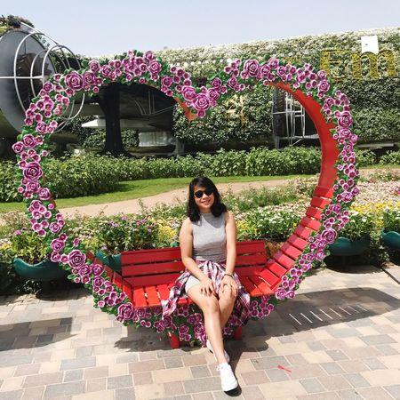 Miracle Garden Dubai When I Was In Dubai