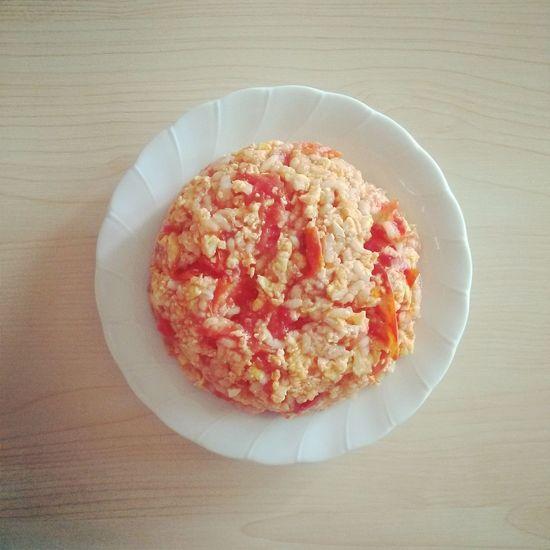 Breakfast ♥ 토마토에그갈릭리조또