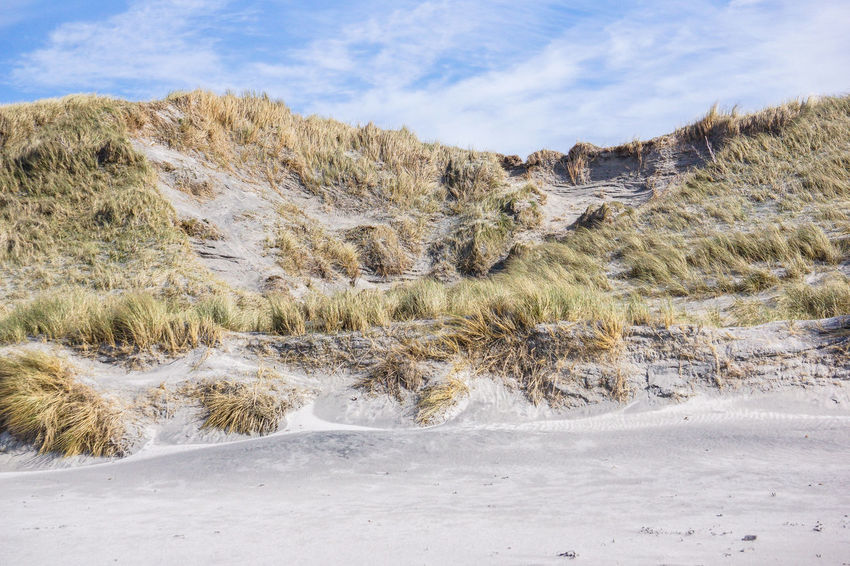Beauty In Nature Landscape Marram Grass Nature No People Outdoors Outer Hebrides Remote Sand Sand Dunes Scenics Sky Solitude Tall Tourism