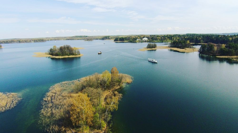Lake Blue Water Nature Outdoors Trakai, Lithuania The Great Outdoors - 2017 EyeEm Awards Lost In The Landscape