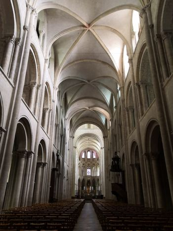 Abbey Aisle Arch Arched Architectural Column Architecture Belief Building Built Structure Ceiling Diminishing Perspective Direction Gothic Style History Indoors  No People Pew Place Of Worship Religion Spirituality The Past The Way Forward