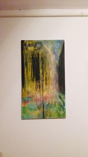 Original Painting Tabufashion Tabudesigns Hugging A Tree :)