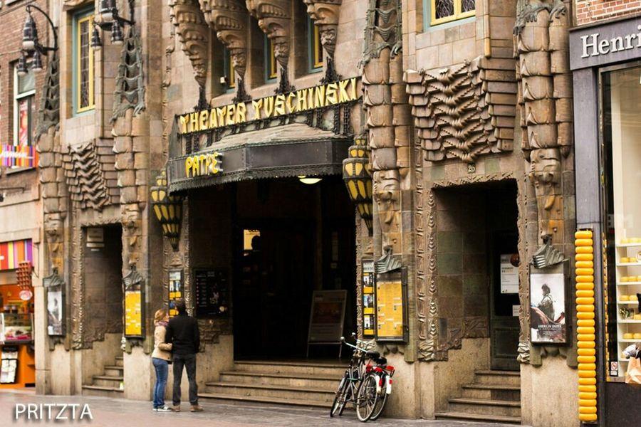 Amsterdam City Theatre Streetphotography