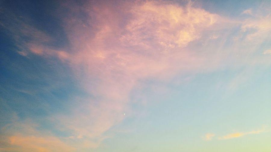 Kazakhstan Balhash Sky sky of Lake Balhash