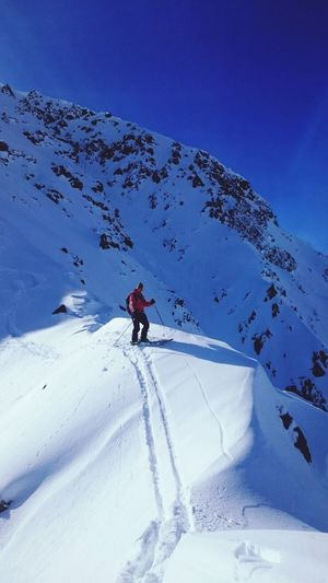 Mountain Swiss Alps Powder Freeride Valais Val D'Anniviers Grimentz Skiing Outdoors
