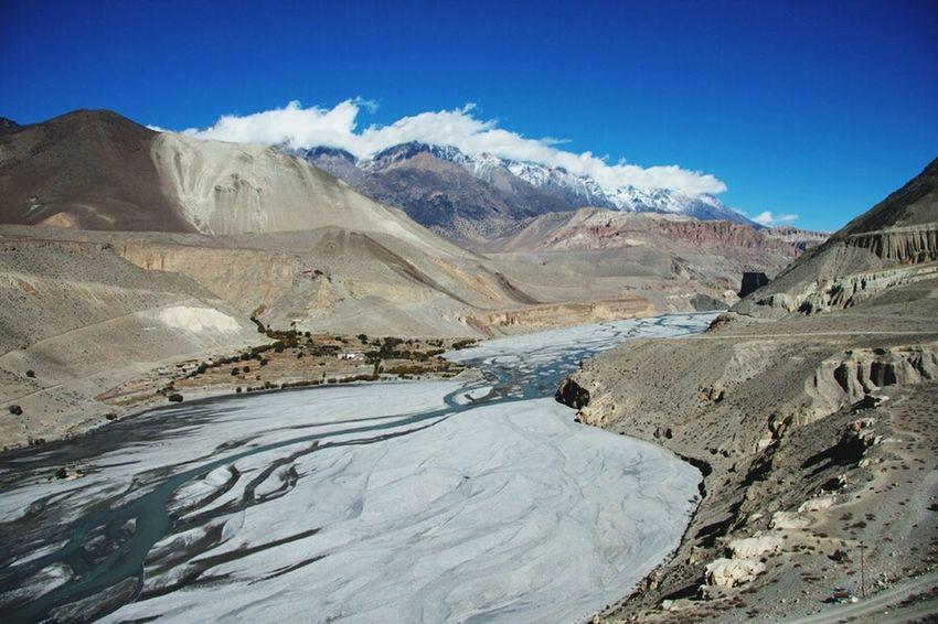 Jomsom Nepal Landscape Himalayas