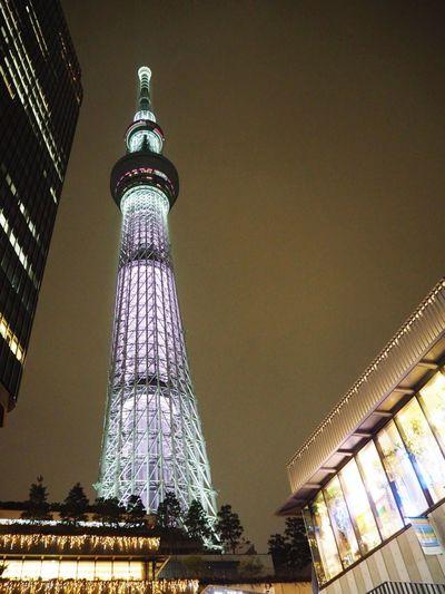 東京 東京スカイツリー 高い デカイ 迫力 綺麗
