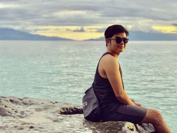 One of the best place in Batangas MasasaBeach Philippines ❤️ Sea Water