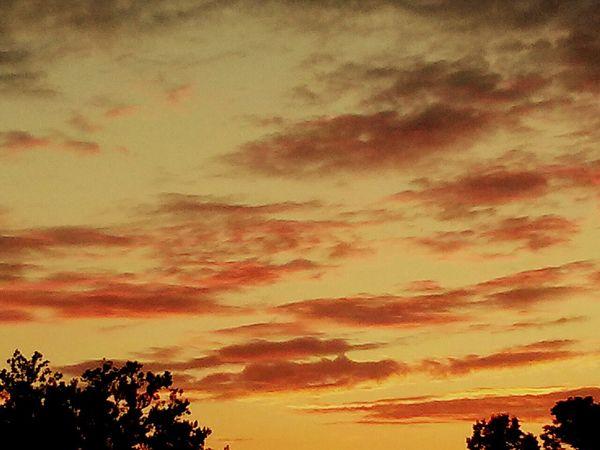 Sunset Sunset Clouds And Sky Sunset #sun #clouds #skylovers #sky #nature #beautifulinnature #naturalbeauty #photography #landscape Sunset_collection Sky_collection Pastel Colors USA Sunset And Clouds