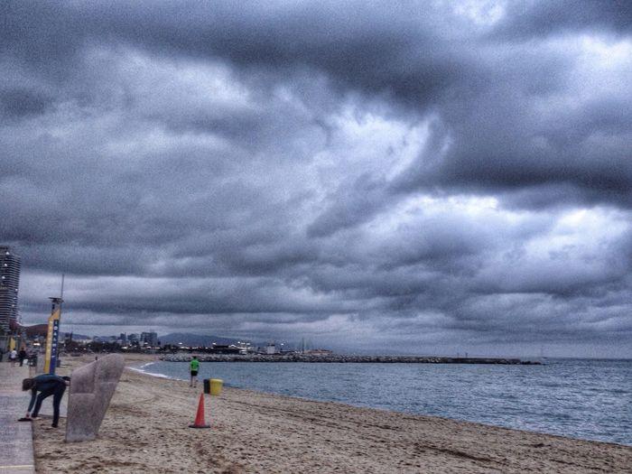 Playa Beach Barcelona Sea