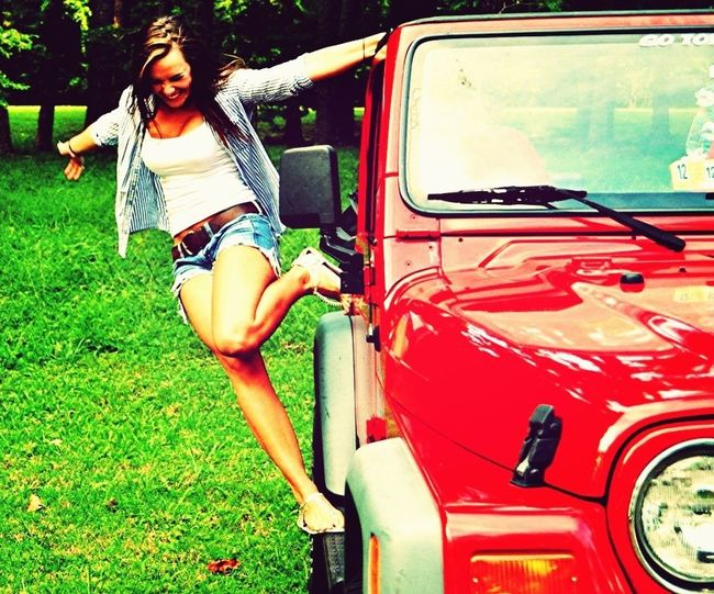 #jeep #girl #forever